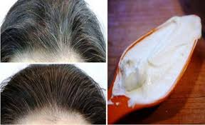 best way to blend gray hair into brown hair lemon and coconut oil blend it transforms gray hair into its