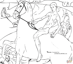 the needlewoman by diego velazquez coloring page free printable