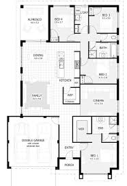 House Plans With 2 Master Bedrooms One Story Luxury Floor Plans Open Single House With Walkout Bas