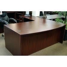 Organizer Desk L Mahogany L Desk New Bow Front Mahogany L Shape Office Redo Box