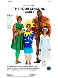 Family Of Four Halloween Costumes by