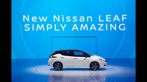 nissan leaf zero emission new nissan leaf world premiere reveal youtube