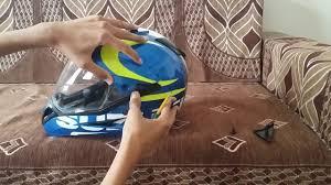 bell red bull motocross helmet how to change visor studds motocross helmet youtube