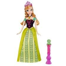 buy disney frozen colour change feature doll anna