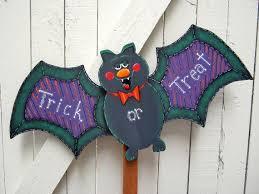 halloween bat yard sign halloween yard art halloween