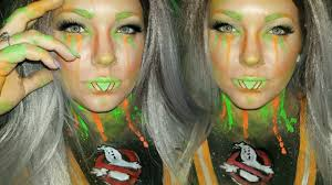 time lapse ghostbusters inspired makeup youtube