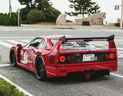 slammed ferrari f40 stancenatio on topsy one