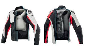 bike riding jackets this motorcycle airbag jacket will automatically inflate when it