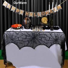 spider webs halloween decorations online get cheap halloween table decorations aliexpress com