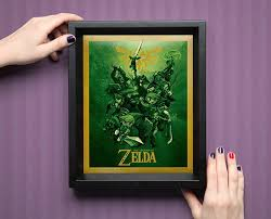 Legend Of Zelda Bedroom Legend Of Zelda 3d Shadowbox Take This Technabob