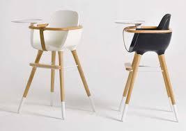 chaise haute pour bébé design ovo de micuna déco
