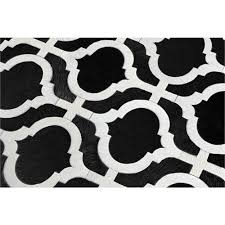 Area Rug Black Black White Area Rug And Geometric Wallpaper Thedailygraff
