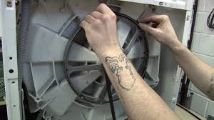 how to replace a washing machine belt on a bosch washer youtube