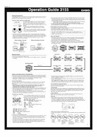 user manual for casio watch module 3155 owner u0027s guide u0026 instructions