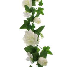 white wedding garland 170 cm hobbycraft