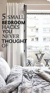Bedroom Hacks The 25 Best Small Bedroom Hacks Ideas On Pinterest Small