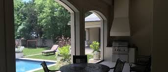 Motorized Screens For Patios Outdoor Motorized Solar Screens Window Treatments Blinds Shades