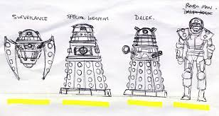 dalek thumbnail sketch by darkangeldtb on deviantart