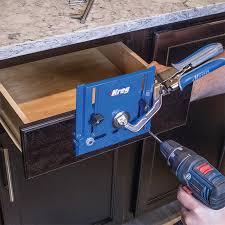 Install Cabinet Hardware Cabinet Hardware Jig U2013 Kreg Hardware Jigs U2013 Hardware