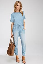 forever 21 rompers and jumpsuits forever 21 denim jumper oasis fashion