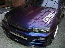nissan skyline r34 gtr midnight purple iii cars pinterest