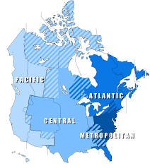 Alaska Time Zone Map by Graphic New Nhl Divisions By Tv Coverage Zone Mile High Hockey