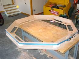 part 2 how to build an octagon poker table u2013 building and