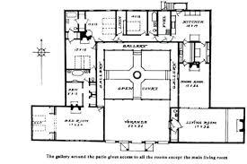 hacienda style homes floor plans mexican style house plans internet ukraine com