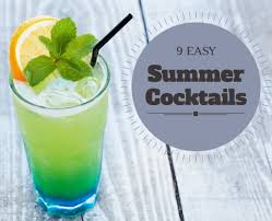 summer cocktail recipes 9 easy summer cocktail recipes stylish life for moms