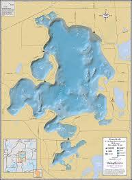 Wall Maps Round Lake Wall Map