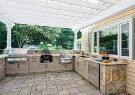 an uncommon outdoor kitchen hearth u0026 home magazine