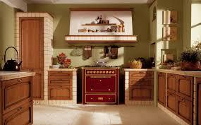 peinture verte cuisine design interieur cuisine bois classique peinture verte hotte