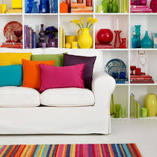 Bright Colour Interior Design | decorating with bright colours to revitalise your home ideal home