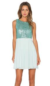 tfnc london sarah sequin dress in mint revolve