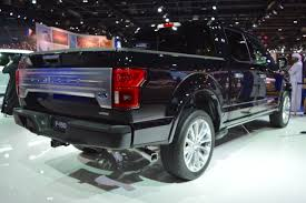 2018 ford f 150 limited showcased at the 2017 dubai motor show