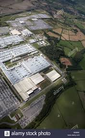 toyota manufacturing aerial view west of the toyota manufacturing uk site country