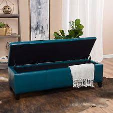 storage ottoman ebay