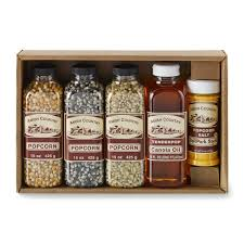 gift set amish popcorn gift set small williams sonoma