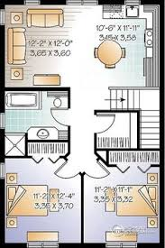 2 Car Garage Apartment Floor Plans Plan 35445gh Guest Quarters Or Rental Income Dining Nook And Nook