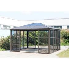 Gazebo With Awning Gazebos U0026 Pergolas Shop The Best Deals For Nov 2017 Overstock Com
