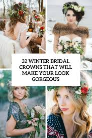 bridal crowns 32 winter bridal crowns that will make your look gorgeous