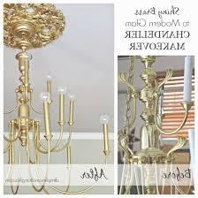 Brass Chandelier Makeover 45 Best Of Brass Chandelier Makeover