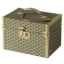 Vanity Box Goyard Gold Vanity Case For Sale At 1stdibs