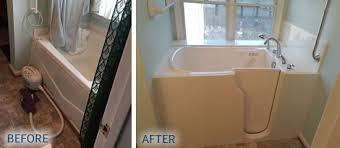 Step In Bathtub Walk In Tubs Homefix Custom Remodeling Sales U0026 Installation