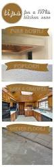 1970 u0027s kitchen reno tips on house and home