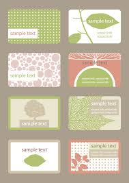 Simple Business Cards Templates Simple Business Card Template 04 Vector Material Download Free