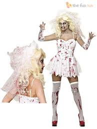 size 8 20 ladies zombie corpse bride womens halloween fancy