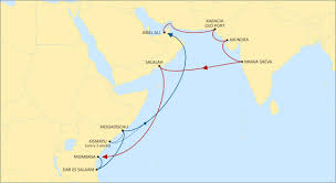 middle east map india msc announce new weekly middle east pakistan india east africa service