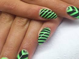 27 green acrylic nail designs picsrelevant