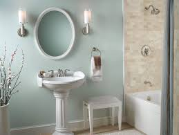 country bathroom color schemes